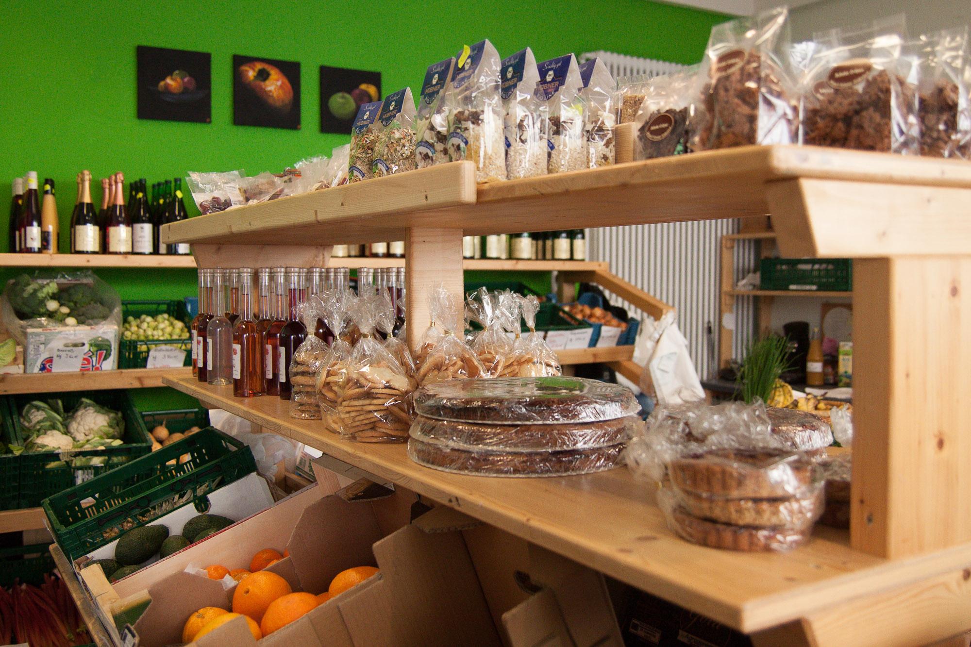 Obsthof Kasper - Der Bauernladen in der Friedenstraße und der Bachstraße in Offenburg
